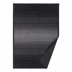 Antracitovosivý vzorovaný obojstranný koberec Narma Moka, 140 × 200 cm