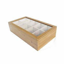 Bambusová škatuľka na čaje Bambum Bonte