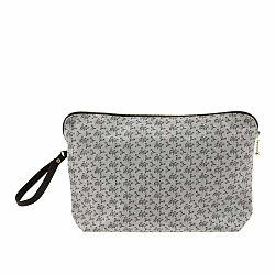 Bavlnená kozmetická taštička A Simple Mess Lecci Mirage Grey, 30×19 cm