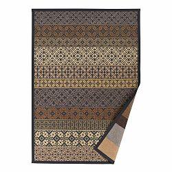 Béžový vzorovaný obojstranný koberec Narma Tidriku, 140 × 200 cm