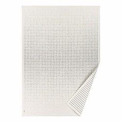 Biely vzorovaný obojstranný koberec Narma Helme, 70 × 140 cm