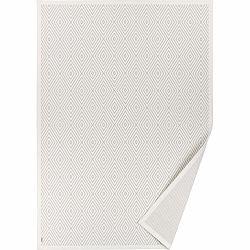 Biely vzorovaný obojstranný koberec Narma Kalana, 160 × 230 cm