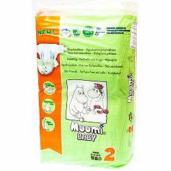Detské plienky Muumi Baby Mini, veľ. 2, 58 kusov