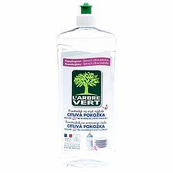 Ekologický prostriedok na umývanie riadu pre citlivú pokožku L´Arbre Vert Sensitive, 2x750 ml