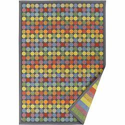 Farebný vzorovaný obojstranný koberec Narma Pallika, 70×140 cm