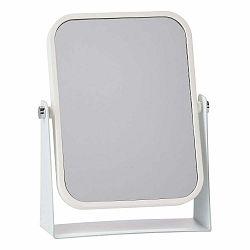 Kozmetické stolové zrkadlo s bielym rámom Zone