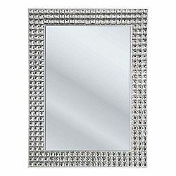 Nástenné zrkadlo Kare Design Crystals, 60×80 cm