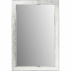 Nástenné zrkadlo Kare Design Crystals Chrome, 120 × 80 cm