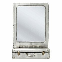 Nástenné zrkadlo s úložným priestorom Kare Design Suitcase
