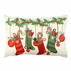 Obojstranný vankúš Christmas Stocking, 33 × 48 cm