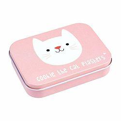 Ružový box na náplaste Rex London Cookie the Cat