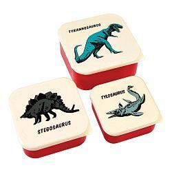 Sada 3 desiatových boxov Rex London Prehistoric Land