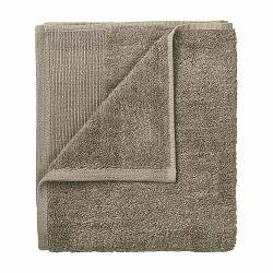 Sada 4 hnedých bavlnených uterákov Blomus, 30 x 30 cm