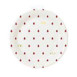 Sada 8 papierových tanierikov Taling Tables Gold, ⌀ 23 cm