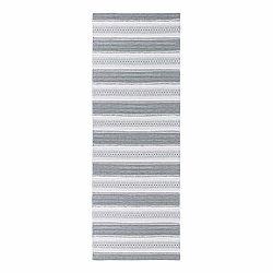 Sivý behúň vhodný do exteriéru Narma Runo, 70×200cm