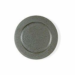 Sivý kameninový dezertný tanier Bitz Mensa, priemer 22 cm