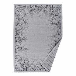 Sivý vzorovaný obojstranný koberec Narma Puise, 160 × 230 cm