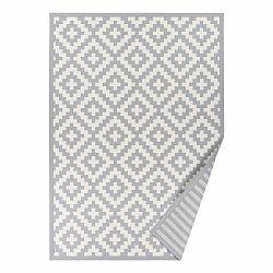 Sivý vzorovaný obojstranný koberec Narma Viki, 140 × 200 cm