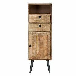 Skrinka z mangového dreva Mauro Ferretti Belgrado, výška 117 cm