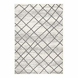 Svetlosivý koberec Zala Living Rhombe, 200×290cm