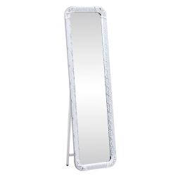 Stojanové zrkadlo, strieborná, EZRIN