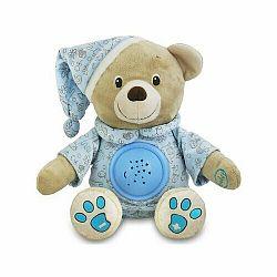 BABY MIX Plyšový Medvedík S Projektorom Modrá