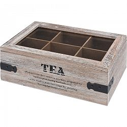 Box na čajové vrecúška Tea 24 x 16 x 9 cm