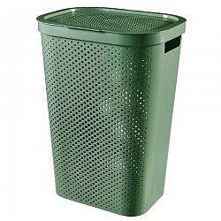 Curver Kôš na špinavú bielizeň INFINITY 59 l, zelená