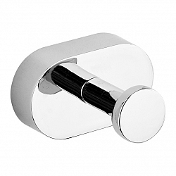 Fala Háčik na župan Oval Chrom, 5 x 3 x 4,5 cm