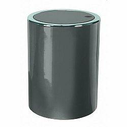 Kleine Wolke Kozmetický odpadkový kôš Clap Mini 1,5 l, antracit