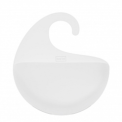 Koziol Kúpeľňový závesný box Surf M biela, 6,5 x 21,6 x 25,3 cm