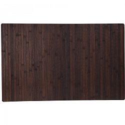 Kúpeľnová predložka Bamboo, tmavohnedá
