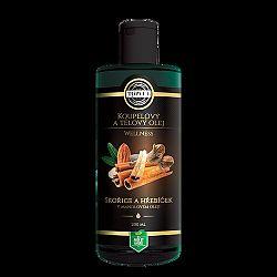 Kúpeľový a telový olej škorica a klinčeky v mandľovom oleji 200 ml, Topvet