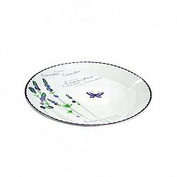 Toro Keramický dezertný tanier Levanduľa, 19 cm